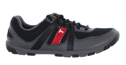 New Junior Golf Shoe True Linkswear True Padwan 7 Black MSRP $100 K1-0001-070