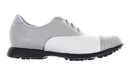 New Womens Golf Shoe Sandbaggers Audrey 7.5 White/Grey MSRP $70
