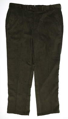 New Mens Peter Millar Corduroy Pants 40 x30 Green MSRP $145 MF15B91FB