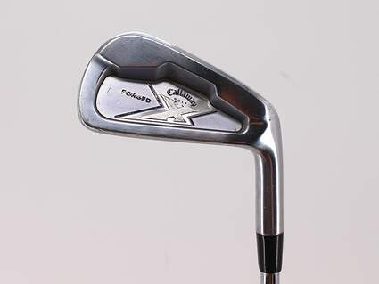 Callaway X Forged Single Iron 6 Iron Stock Steel Shaft Steel Stiff Right Handed 37.75in