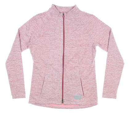 New Womens Puma Warm Up Jacket Small S Pink MSRP $75 595850