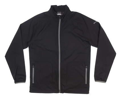New Mens Puma Zephyr Wind Jacket Medium M Black MSRP $80 577902