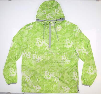 New Mens Puma Tournament Jacket Medium M Green MSRP $80 596390