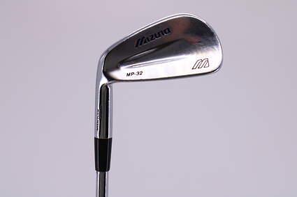 Mizuno MP 32 Single Iron 6 Iron True Temper Dynamic Gold X100 Steel Regular Left Handed 37.5in