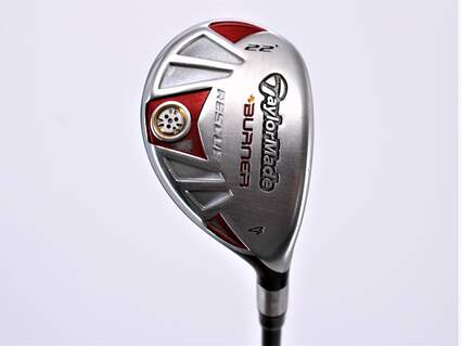 TaylorMade Burner Rescue Hybrid 4 Hybrid 22° TM Aldila reax 65 hybrid Graphite Stiff Right Handed 40.0in