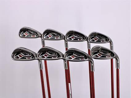 Ping G15 Iron Set 7-PW GW SW LW Ping TFC 149I Graphite Regular Right Handed White Dot 37.25in