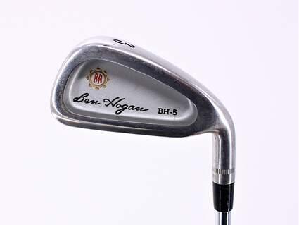 Ben Hogan BH-5 Single Iron 3 Iron Hogan Apex 4 Steel Steel Stiff Right Handed 39.5in