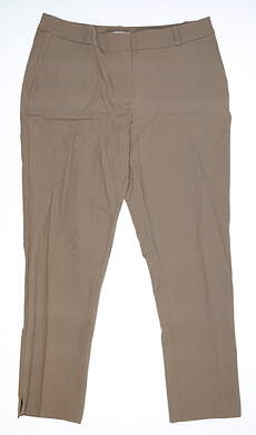 New Womens Fairway & Greene Madison Cropped Pants 12 Gray MSRP $95 I12183