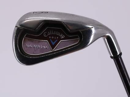 Callaway 2006 Big Bertha Single Iron 6 Iron Callaway 45 Gram Graphite Ladies Right Handed 36.5in