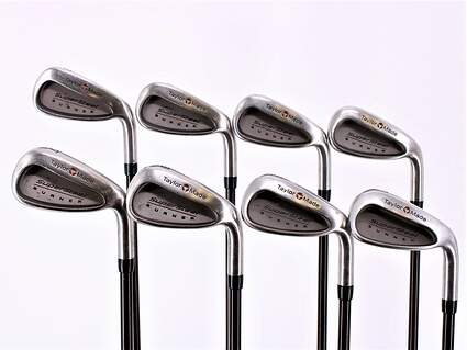 TaylorMade Supersteel Iron Set 3-PW TM Bubble Graphite Regular Right Handed 38.25in