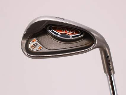 Ping G10 Single Iron Pitching Wedge PW 46° True Temper Dynalite 105 Steel Regular Right Handed Black Dot 36.75in
