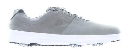 New Mens Golf Shoe Footjoy Prior Generation Contour Series Medium 7.5 Gray MSRP $130 54129