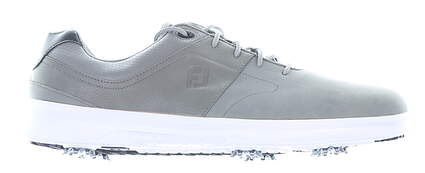 New Mens Golf Shoe Footjoy Prior Generation Contour Series Wide 8.5 Gray MSRP $130 54129