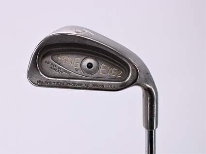 Ping Eye 2 Single Iron 6 Iron Ping ZZ Lite Steel Stiff Right Handed Black Dot 37.75in