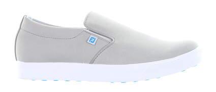 New Womens Golf Shoe Footjoy Prior Generation FJ Sport Retro Medium 7.5 Gray MSRP $90 92362