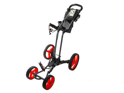 Brand New Sun Mountain Pathfinder PX4 Push and Pull Cart Magnetic Gray/Red Ships Today!