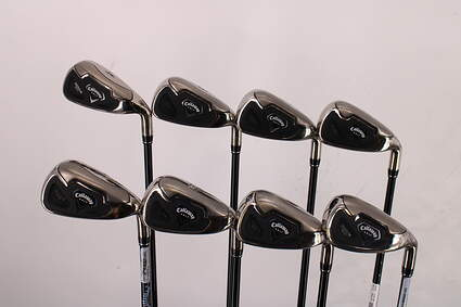 Callaway Fusion Wide Sole Iron Set 4-PW SW Callaway 45 Gram Graphite Ladies Right Handed 37.0in