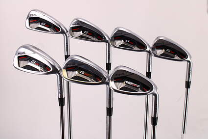 Ping G410 Iron Set 4-PW AWT 2.0 Steel Regular Right Handed Black Dot 38.25in