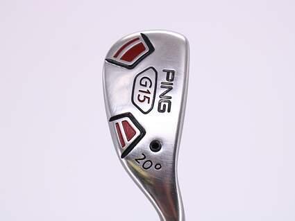 Ping G15 Hybrid 3 Hybrid 20° Stock Steel Shaft Steel Regular Right Handed 39.0in