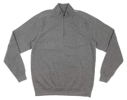 New Mens Greg Norman 1/4 Zip Sweater Small S Gray MSRP $60 G7F5K015