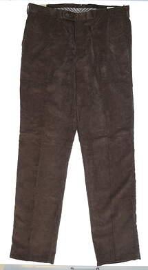 New Mens Peter Millar Corduroy Pants 38 x36 Brown MSRP $145 MF14B91