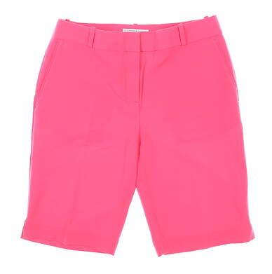 New Womens Fairway & Greene Macie Golf Shorts 4 Pink MSRP $80 E12183