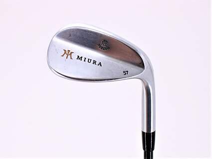 Miura Wedge Series Wedge Sand SW 57° Kuro Kage Black Iron 70 Graphite Senior Right Handed 36.0in