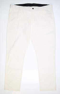 New Mens Nike Golf Pants 40 x32 White MSRP $85 891924
