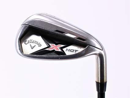 Callaway 2013 X Hot Single Iron 8 Iron Kuro Kage Black Iron 70 Graphite Stiff Right Handed 36.75in