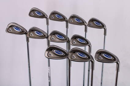 Ping i5 Iron Set 2-PW Ping AWT Steel Stiff Right Handed Blue Dot 39.5in