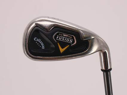 Callaway Fusion Single Iron 8 Iron 37° Callaway RCH 75i Graphite Regular Right Handed 36.5in