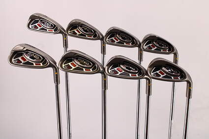 Ping G15 Iron Set 4-PW GW Ping AWT Steel Stiff Right Handed Yellow Dot 38.0in