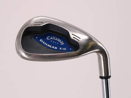 Callaway X-16 Single Iron 9 Iron Callaway Stock Steel Steel Uniflex Right Handed 36.0in