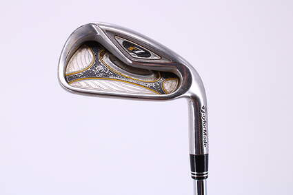 TaylorMade R7 Single Iron 6 Iron TM T-Step 90 Steel Regular Right Handed 37.5in