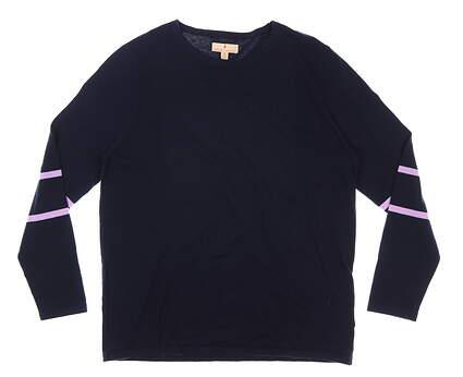 New Womens Sport Haley Sweater X-Large XL Navy Blue MSRP $99 H19212KM