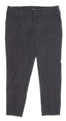 New Womens Jo Fit Slimmer Cropped Pants X-Large XL Gray MSRP $100 GB132-610
