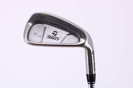 TaylorMade 360 Single Iron 6 Iron TM S-90 Steel Stiff Right Handed 37.5in