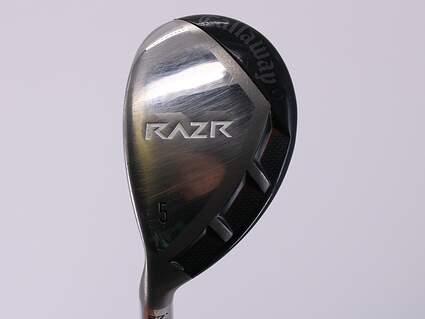 Callaway Razr X Hybrid 5 Hybrid 27° Callaway Razr X Hybrid Graphite Ladies Left Handed 37.75in