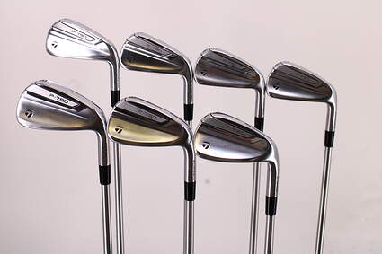 TaylorMade 2019 P790 Iron Set 4-PW FST KBS C-Taper 120 Steel Stiff Right Handed 37.75in