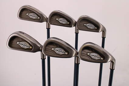 Callaway X-12 Iron Set 4-9 Iron Callaway Gems Graphite Ladies Right Handed 37.25in