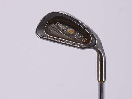 Ping Eye 2 Single Iron 4 Iron Stock Steel Shaft Steel Ladies Right Handed Yellow Dot 38.0in