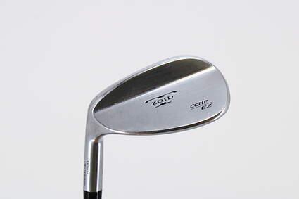 Mizuno T-Zoid EZ Comp Wedge Sand SW 56° 10 Deg Bounce Stock Graphite Shaft Graphite Stiff Left Handed 35.5in
