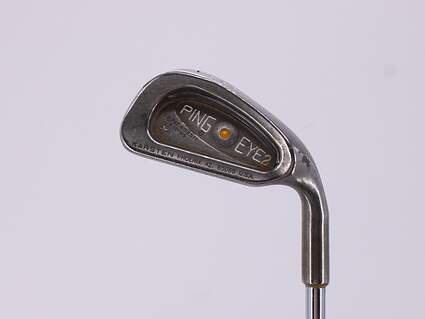 Ping Eye 2 Single Iron 4 Iron Stock Steel Shaft Steel Ladies Right Handed Yellow Dot 38.25in