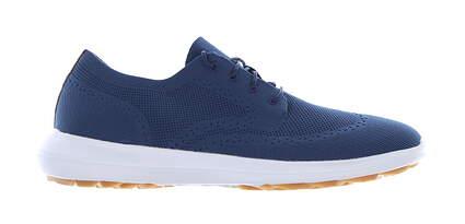 New Mens Golf Shoe Footjoy Flex LE2 Medium 9.5 Blue MSRP $130 56118