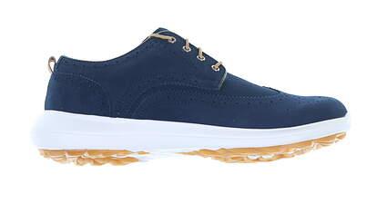 New Mens Golf Shoe Footjoy Flex LE1 Medium 9 Blue MSRP $130 56114