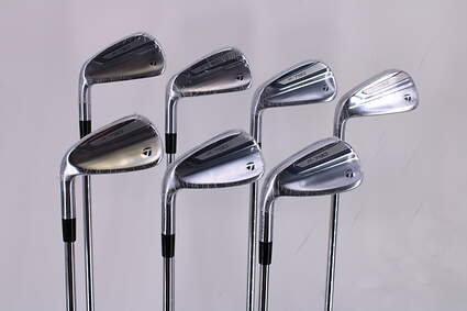 Mint TaylorMade 2019 P790 Iron Set 4-PW Nippon NS Pro Modus 3 Tour 105 Steel Stiff Left Handed 37.75in