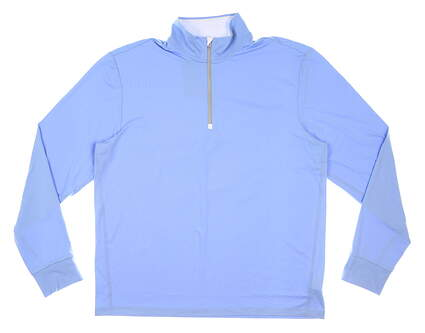 New Mens Ralph Lauren 1/4 Zip Golf Pullover Large L Blue MSRP $99