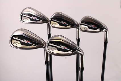 Callaway XR Iron Set 7-PW SW Project X 5.5 Graphite Graphite Regular Right Handed 35.5in