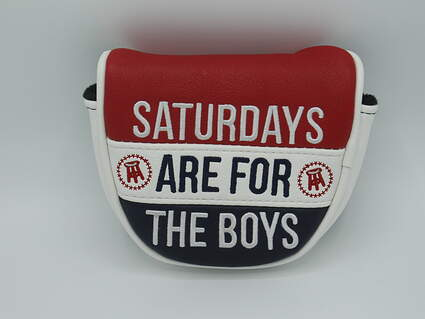 """Barstool """"Saturdays Are For The Boys"""" Putter Headcover"""