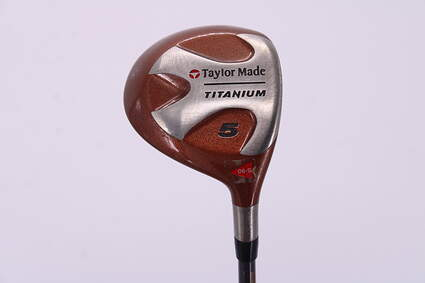 TaylorMade Ti Bubble Fairway Wood 5 Wood 5W TM Bubble Graphite Stiff Right Handed 42.5in
